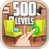 Zoek de Verschillen 500 levels icon