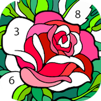 Paint by Numbers: New Coloring Pictures Book Free icon