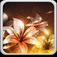 Εικονίδιο του Λαμπερό Λουλούδια Φοντο