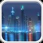 Dubai na noite Papel de Parede 5.0