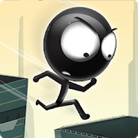 Stickman Roof Runner Simgesi
