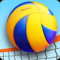 Icône de Volleyball de plage 3D