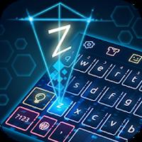 Ícone do Tema de teclado de holograma