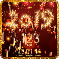 Silvester countdown Icon