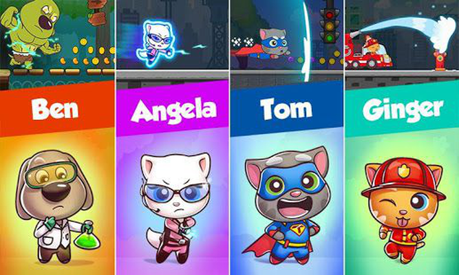 Talking Tom Candy Run Android Baixar Talking Tom Candy Run