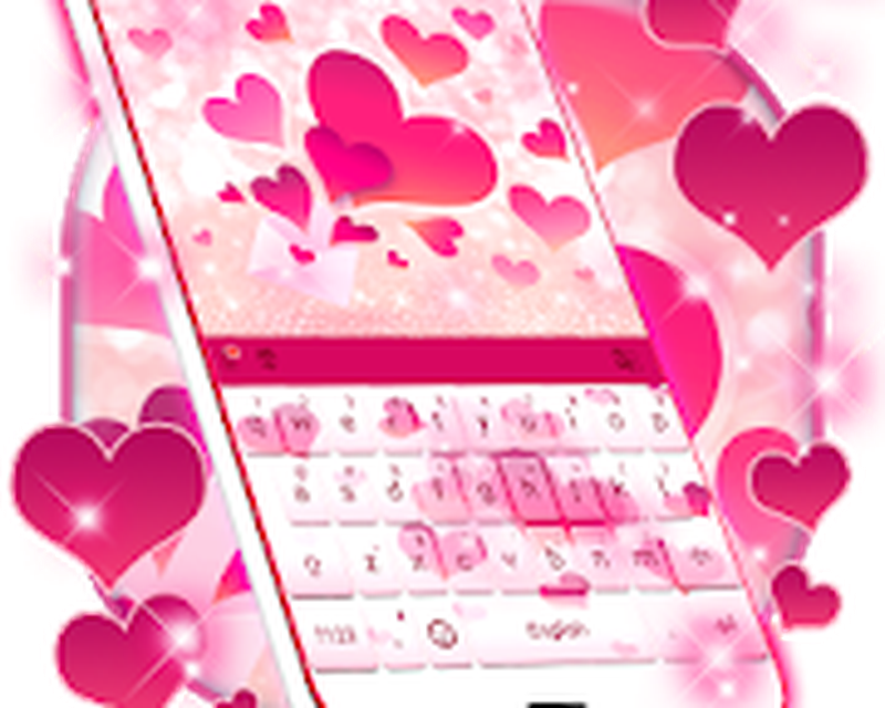 Pink Love Keyboard Android - Free Download Pink Love
