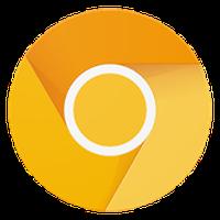 Ícone do Chrome Canary (instável)