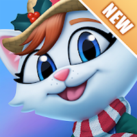 ไอคอนของ Kitty City: Help Cute Cats Build & Harvest Crops