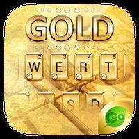Ikon Gold Pro GO Keyboard Theme