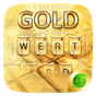 Gold Pro GO Keyboard Theme 4.5