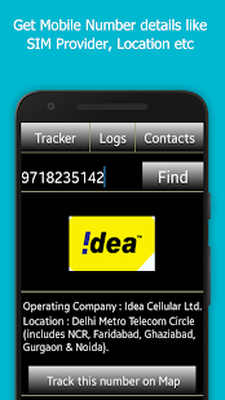 Mobile Number Tracker Android - Free Download Mobile Number Tracker