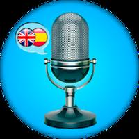 Ícone do Inglês - Espanhol Traduzir voz
