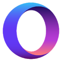 Opera Touch: the fast, new browser with Flow アイコン