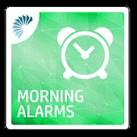 Ícone do Engraçado Alarmes Manhã