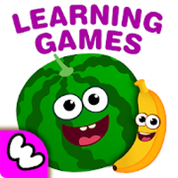 Funny Food! Learning Games for Kindergarten Kids 2 icon