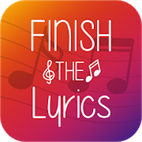 Ikona Finish The Lyrics - Free Music Quiz App