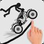 Stickman Racer Road Draw 1.04