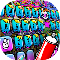Party Graffiti Exquisite Keyboard Theme icon