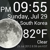 Ikon Weather Clock Widget