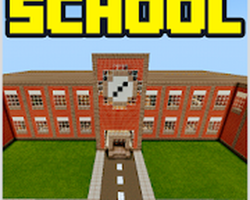 майнкрафт играть школа на 2 #8