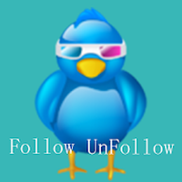Unfollow Twitter Users Simgesi