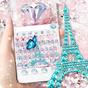 Girly Paris Keyboard Theme 10.0