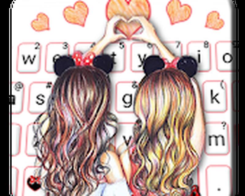 Neues Best Friend Forever Tastatur thema App Android - Kostenloser ...