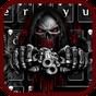 Tema teclado armas de esqueleto sangue vermelho  APK