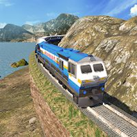 Indian Hill Train Driving 2018 apk icon