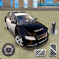 ไอคอนของ ตำรวจ รถ ที่จอดรถ เกม ฟรี