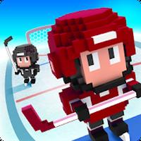 Icône de Blocky Hockey - Ice Runner