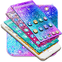 Colorful Glitter Dreamy Theme apk icono