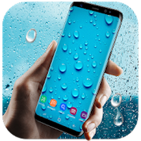 Ikona Running Waterdrops Live Wallpaper