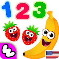 Funny Food 3! Math kids Number games for toddlers icon