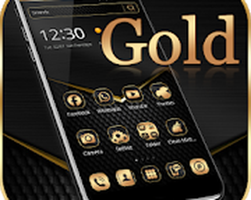 Black Gold Theme Wallpaper Android - Free Download Black