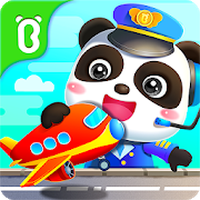 Baby Panda's Airport Simgesi