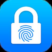Ícone do Bloqueio de aplicativos-Senha de impressão digital