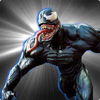 Dark Spider Venom City Battle apk icon