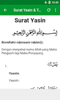 Surat Yasin Doa Tahlil Terjemahan Android Free