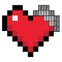 Ícone do Pixel Art - Jogos de colorir