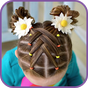 Hairstyles for children step by step on short hair 1.0