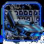 Neon Water Sports Car Keyboard Theme 6.9.17.2018