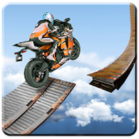 Εικονίδιο του Bike Impossible Tracks Race: 3D Motorcycle Stunts