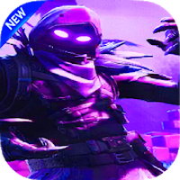 Battle Royale Fornite Wallpapers HD 4K 2018 APK icon