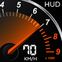 GPS Speedometer Digital Free: HUD Display Odometer apk icon