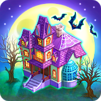 Monster Farm: Happy Halloween Game & Ghost Village icon