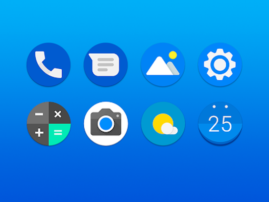 Pixel pie - icon pack Android - Free Download Pixel pie