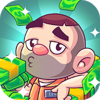 Иконка Idle Prison Tycoon: Gold Miner Clicker Game