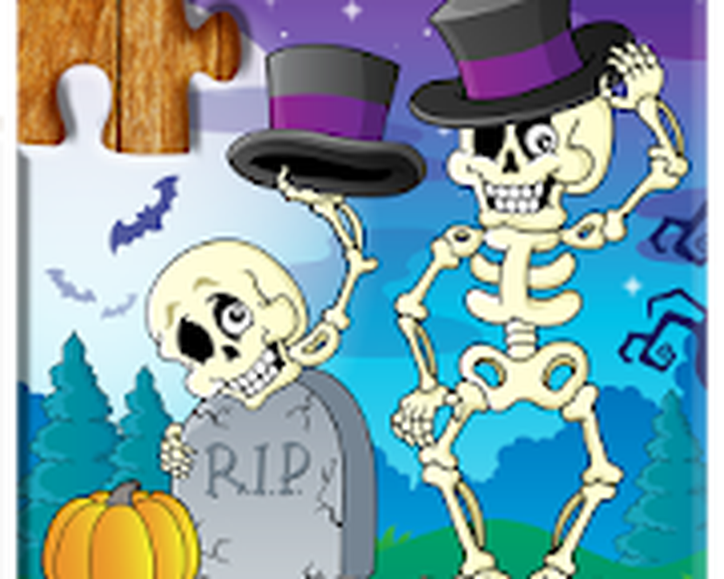 Jigsaw Puzzles Halloween Game for Kids Android - Free
