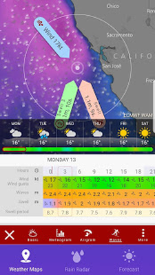 RAIN RADAR - Animated Weather Forecast Windy Maps 1 1 Android - Tải